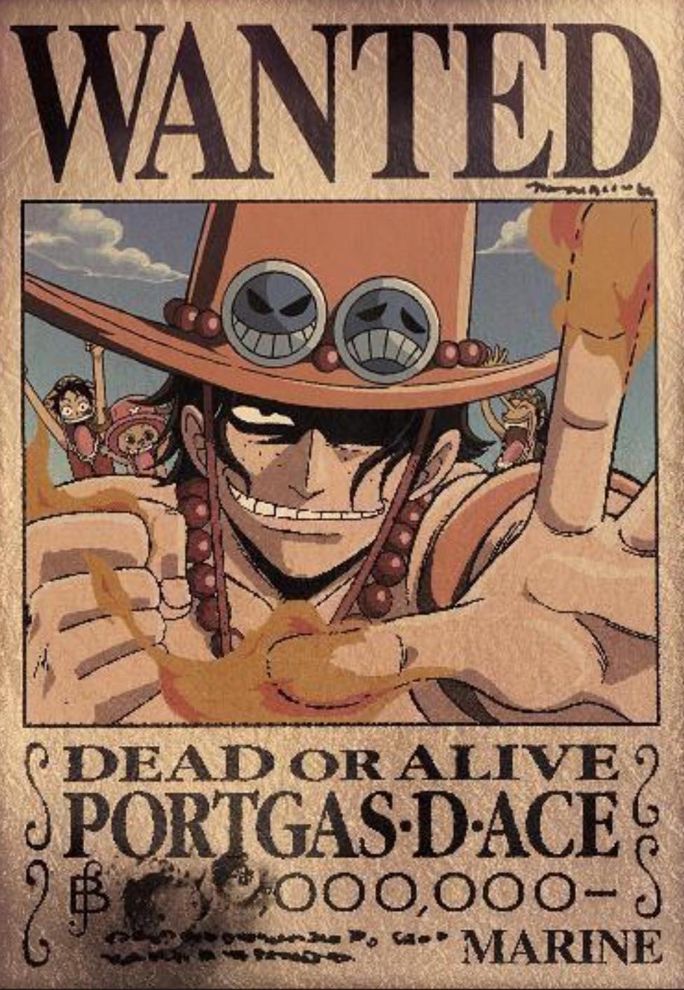 TATTOO ORIGINAL: Wallpaper One Piece Wanted