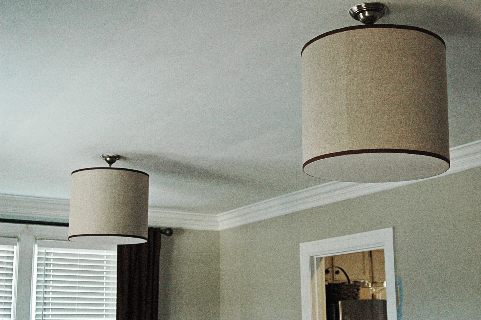 Drum Lamp Shades Table Lamps On For