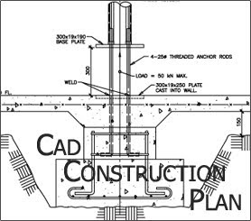Construction Drawing, Architectural CAD Conversion., 2D