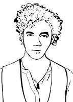 JONAS BROTHERS coloring pages - Coloring pages - Printable ... | 200x143