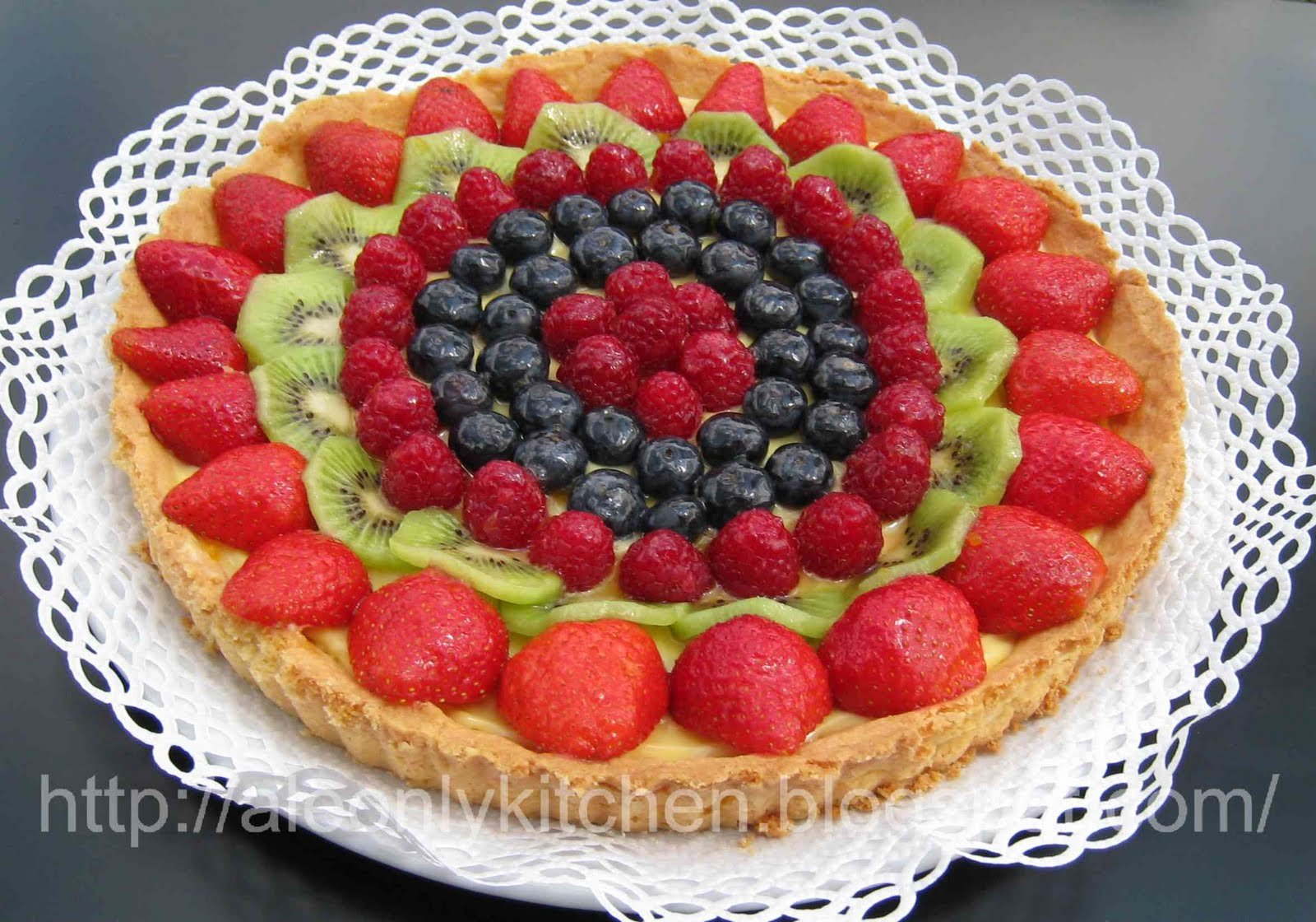 spesso Ale only kitchen: Crostata di frutta fresca GH28