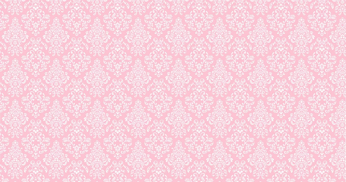 Shabby Chic Pink Wallpaper