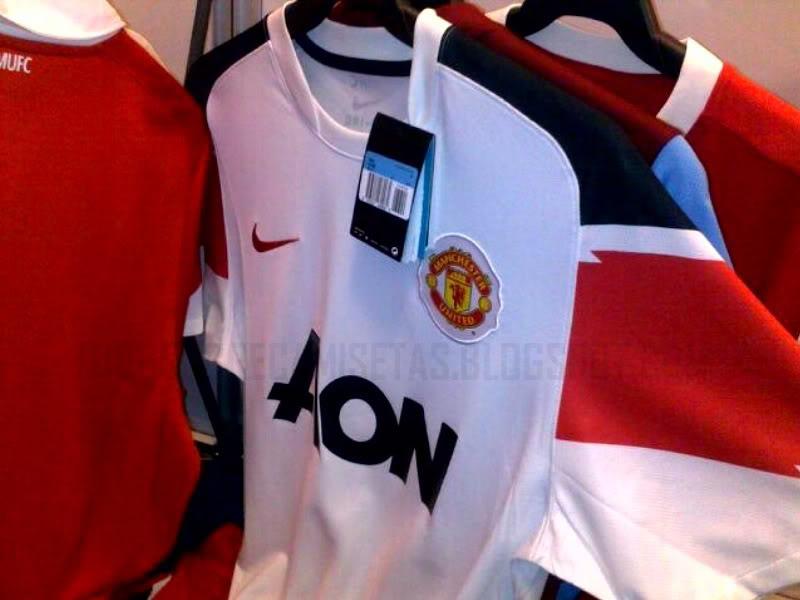 1d2d77408b8cf Estas serán las nuevas camisetas del Manchester United FC para la próxima  temporada