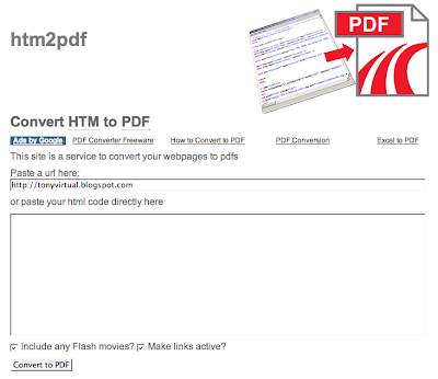 The tech in me: How to convert HTML to PDF