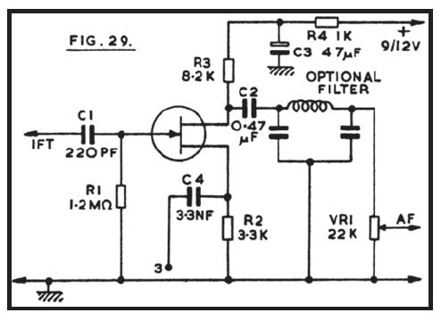 Audio Volume Control Circuit Audio Tone Control Circuit