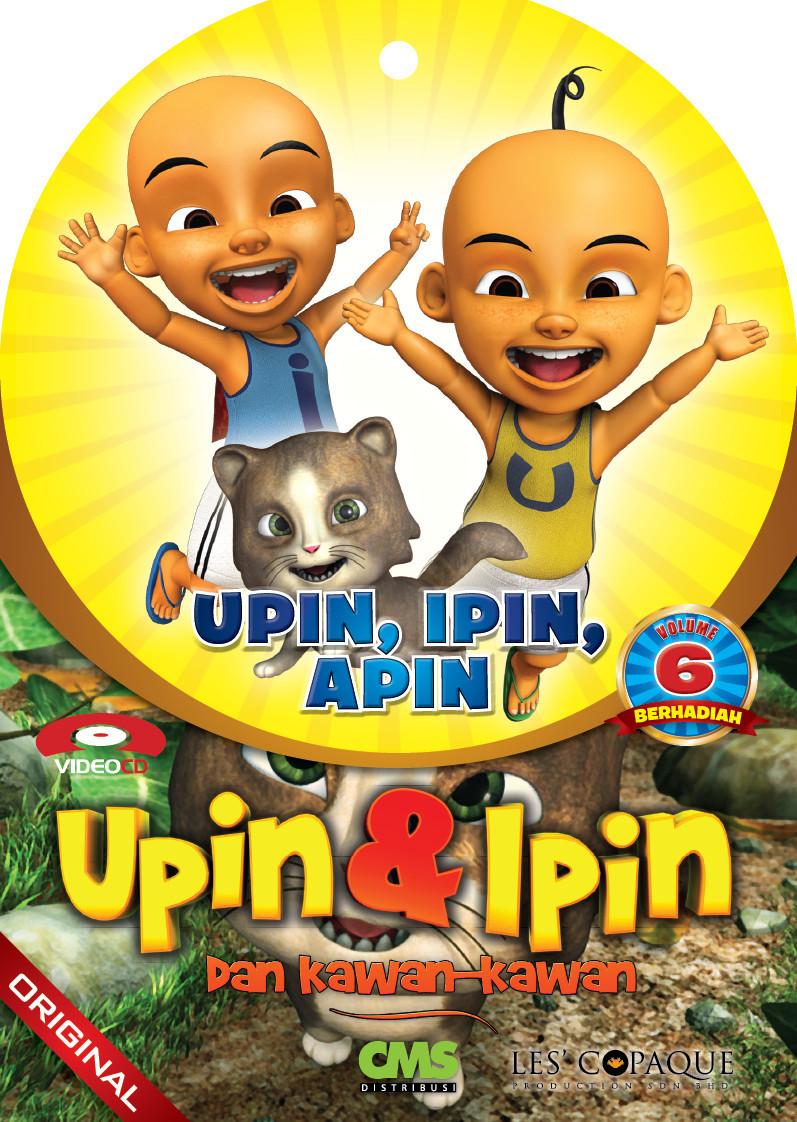 Vcd Kartun Anak Pintar: Upin, Ipin, Apin