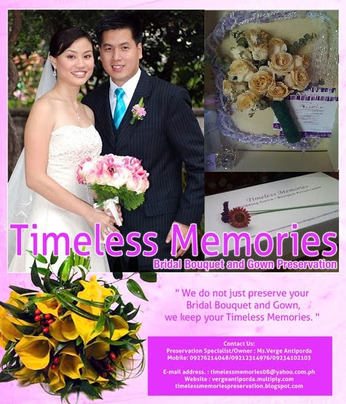 Do It Yourself Wedding Gown Preservation: TIMELESS MEMORIES
