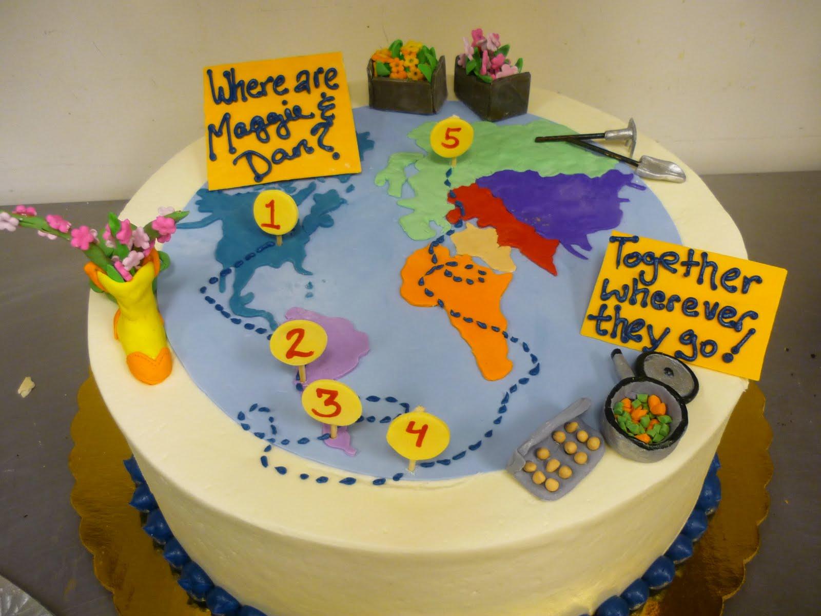 Artisan Bake Shop Round Buttercream Birthday Cake Where In The World