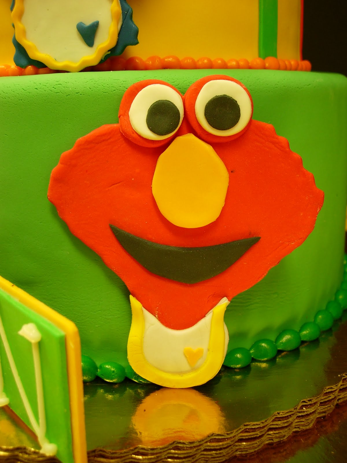 Artisan Bake Shop First Birthday Sesame Street Cake