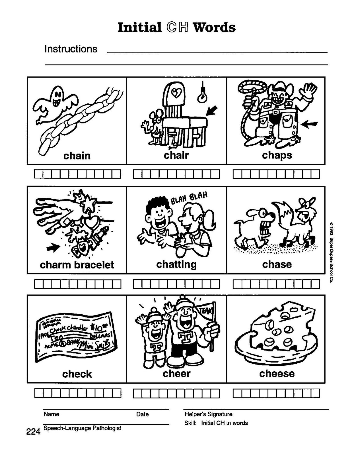 Speech Therapy With Miss Nicole Ch Initial Words