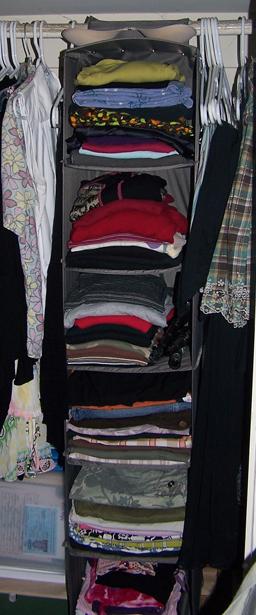 small space organizer: closet space saver.... on Closet Space Savers Walmart  id=91852