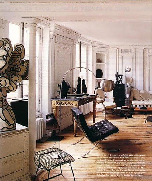 Merci Paris...: Paris Apartment: Frederic Mechiche