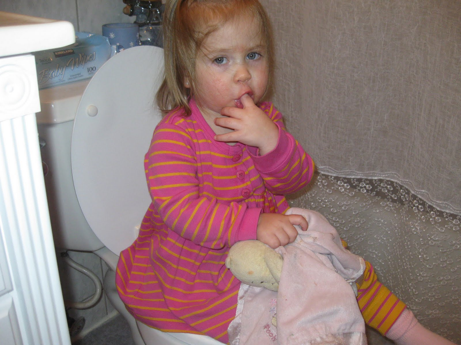 All About the Girls: Potty Training!