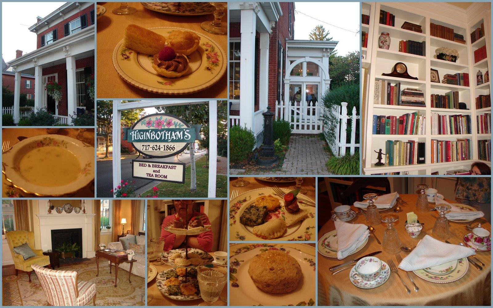Rosemary\'s Sampler: Higinbotham\'s Tea Room