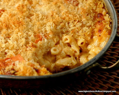 Big Bold Beautiful Food Baked Macaroni Amp Cheese