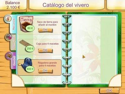 Prueba kelly green garden queen juegos full en espa ol for Vivero organico