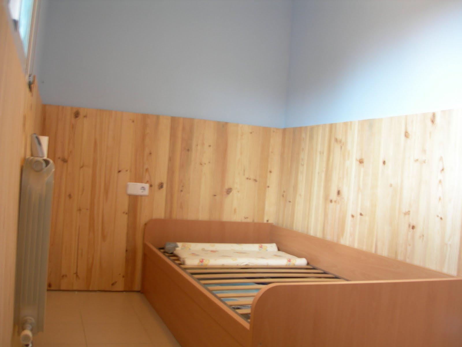 C mo decorar la casa friso de madera - Colocar friso en pared sin rastreles ...