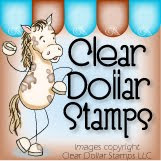 Clear Dollar Stamps