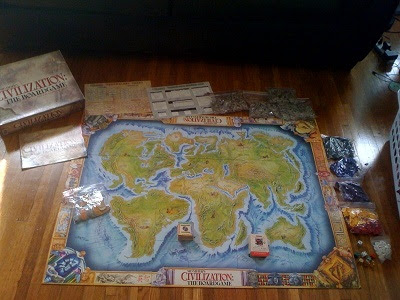 Civilization board game from Eagle games