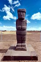 Estátua de Tiahuanaco