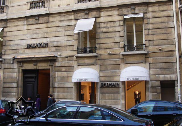 Balmain paris shop online