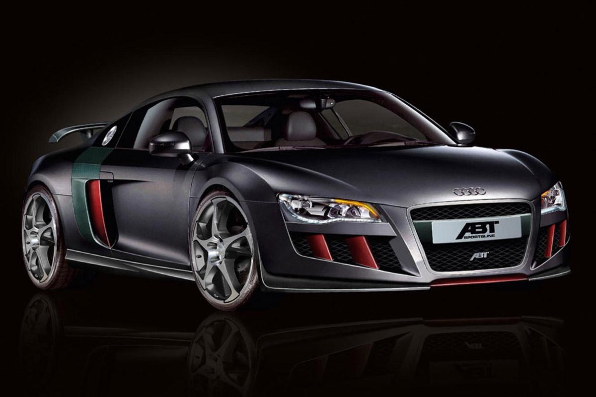 Fast Cars Audi R8 Mid Engine Sports Car