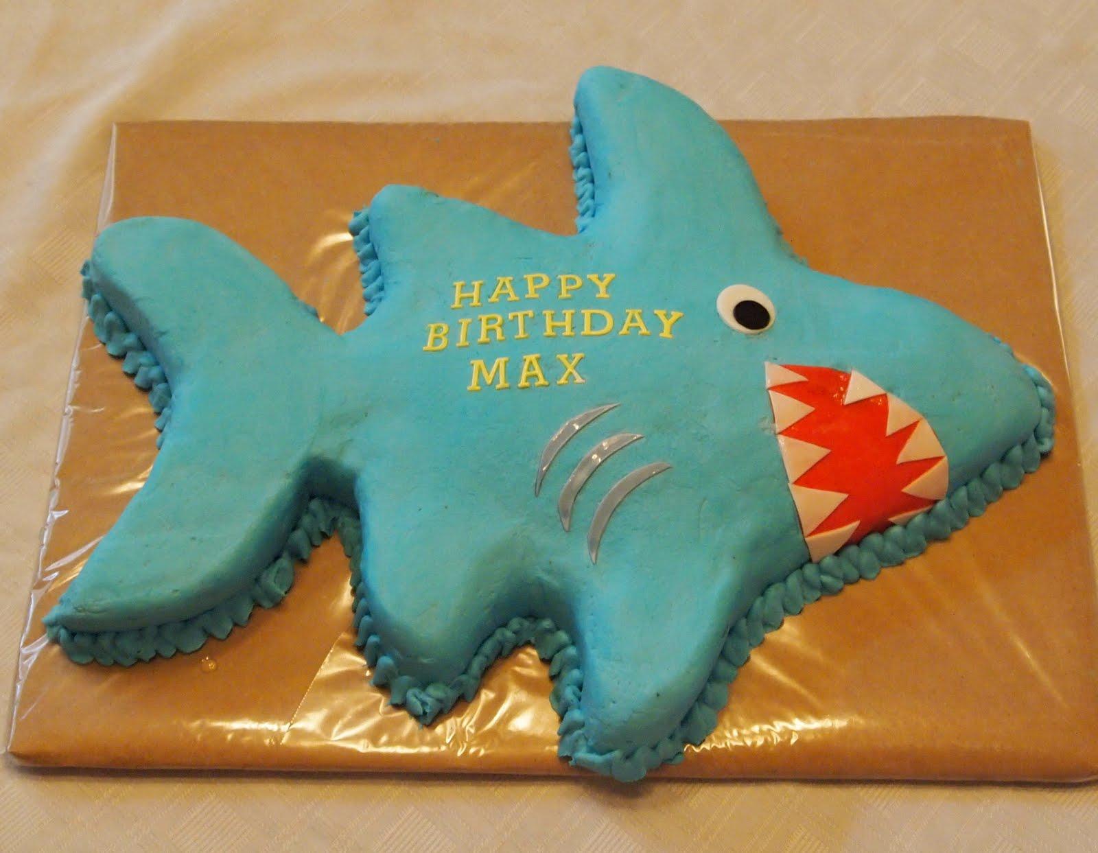 Becky Kelly Cakes Shark Cake