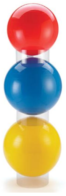 ball stacker for three balls