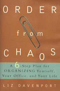 book cover, Order From Chaos