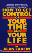 book cover, How to Get Control of Your Time and Your Life