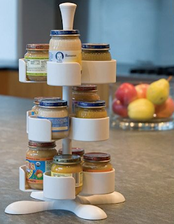 baby food jar organizer