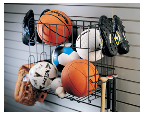 Wall Mounted Sports Racks (including Ball Storage) Are Also Available.