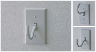 OFF light switch hook