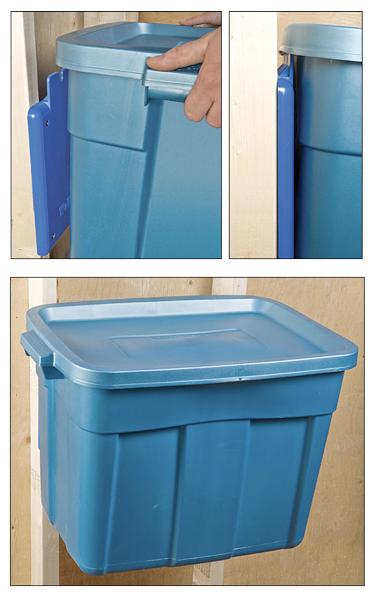 recycle bin ideas garage - Jeri's Organizing & Decluttering News Garage Storage