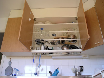 Finnish Dish Drying Cabinet
