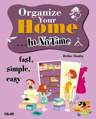 book cover - Organize Your Home ... In No Time