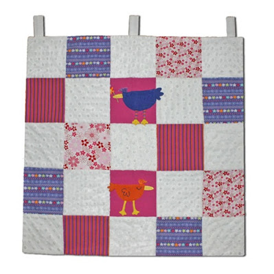 quilt from cute child's clothes