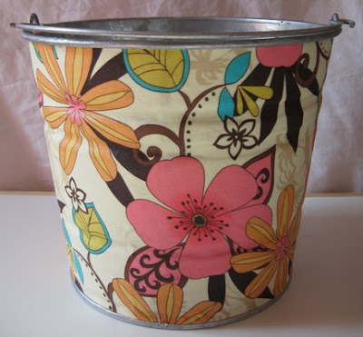flowered pail
