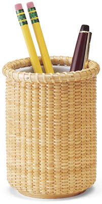 basket pencil holder