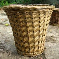 willow wastepaper basket
