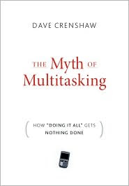 book cover, The Myth of Multitasking