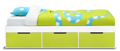 child bed with storage