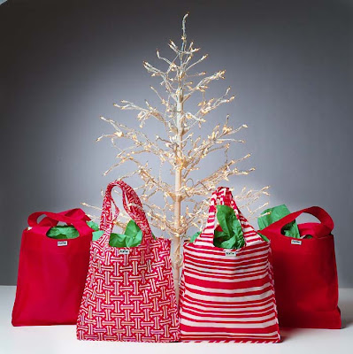 reusable gift wrap bags