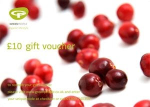 Green People gift voucher