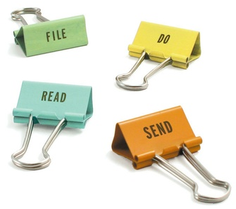 task clips: file, do, read, send