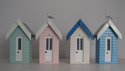beach hut money boxes