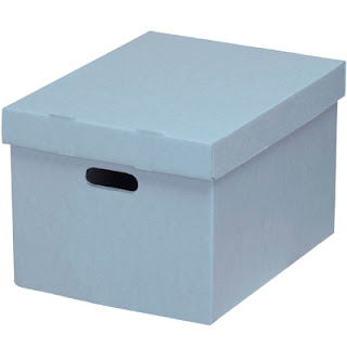 archival document box acid-free
