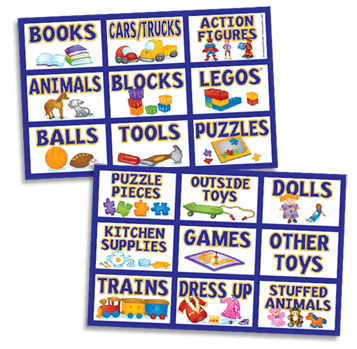 Jeri's Organizing & Decluttering News: Organizing with Children: Labels That Work