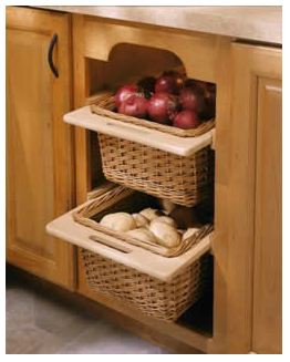 Kitchen Cabinet Baskets Bangalore