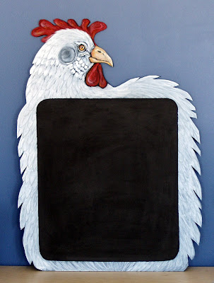 chicken blackboard